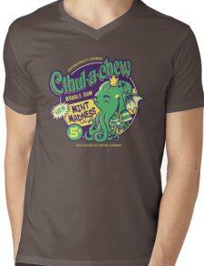 Cthulachew Mens V-Neck T-Shirt