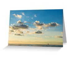 Where You Are Greeting Card