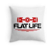 Flat Life (5) Throw Pillow