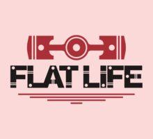 Flat Life (5) Kids Tee