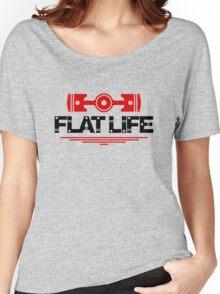 Flat Life (5) Women's Relaxed Fit T-Shirt