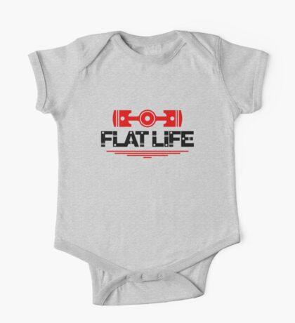Flat Life (5) One Piece - Short Sleeve