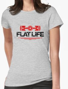 Flat Life (5) Womens Fitted T-Shirt