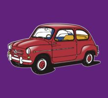 fiat 600 red by karmadesigner