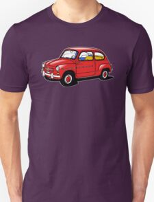 fiat 600 red T-Shirt