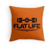 Flat Life (6) Throw Pillow