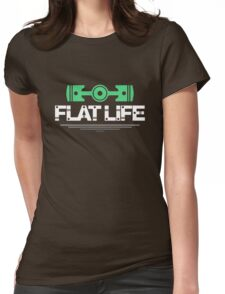 Flat Life (7) Womens Fitted T-Shirt