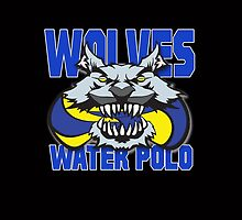 Wolves Water Polo by G. Patrick Colvin