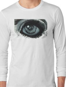Eye reflection study Long Sleeve T-Shirt