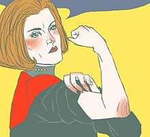 We Can Do It! Captain Janeway by inicka