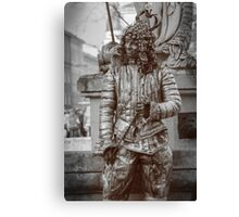 Smile of The Iron King Canvas Print