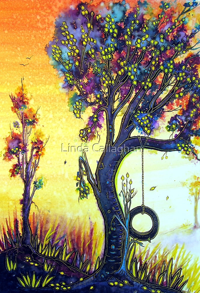 Tree Swing by © Linda Callaghan