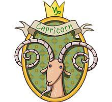 Capricorn. Cartoon horoscope. by shizayats