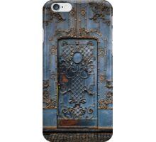 The blue gate iPhone Case/Skin