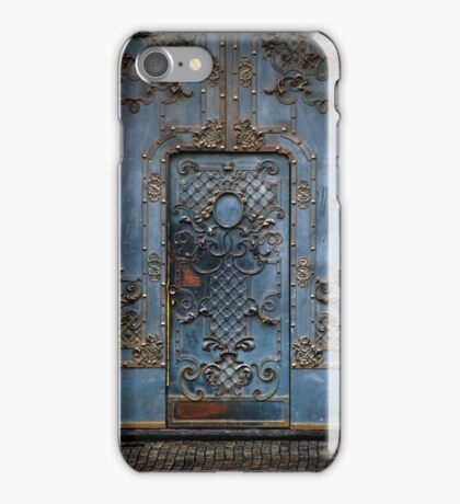 The blue gate iPhone Case/Skin