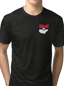 Pokemon USA American State  Tri-blend T-Shirt