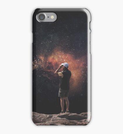 Space tourist II iPhone Case/Skin