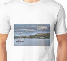 Lochinver Harbour, Sutherland, Scotland. Unisex T-Shirt