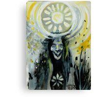 The Three-eyed Necromancer  Canvas Print