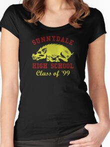 Sunnydale Class of '99 Women's Fitted Scoop T-Shirt