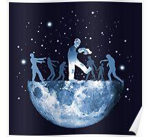 MoonWalk - Moon Zombies Poster