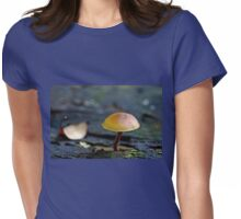 Tiny Mushroom Womens Fitted T-Shirt