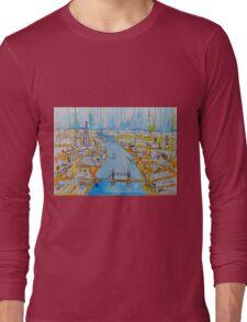 The river Thames Long Sleeve T-Shirt