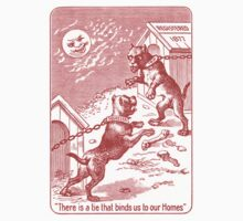 Squeezer (red bulldog playing cards) Kids Clothes
