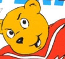 Super Ted Sticker