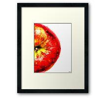 Apple Fruit Framed Print