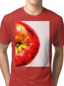Apple Fruit Tri-blend T-Shirt