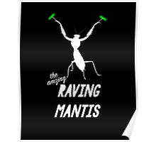 The Amazing Raving Mantis Poster