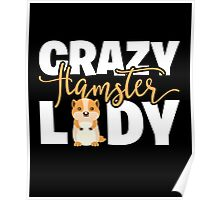 Crazy Hamster Lady Poster