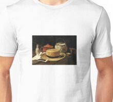 Still-Life with Yellow Straw Hat Unisex T-Shirt