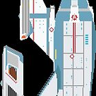 NCC-1701 Pixel by themaddesigner