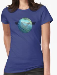Surf Globe Womens Fitted T-Shirt