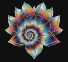 Psychedelic Lotus by Sarah Ball (TheMaggotPie)