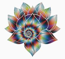 Psychedelic Lotus Kids Clothes