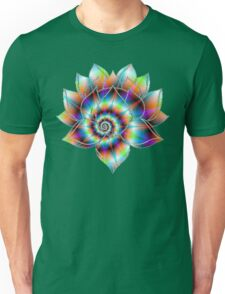 Psychedelic Lotus Unisex T-Shirt