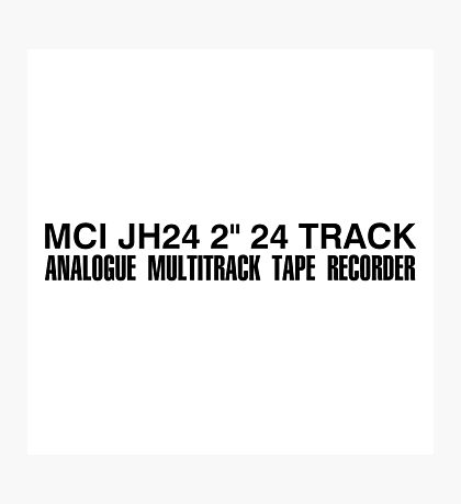 MCI JH24 Multitracker Photographic Print