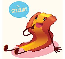 Sizzlin' Bacon!!! Photographic Print