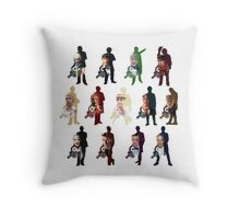 Doctors O'Clock Throw Pillow