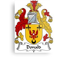 Donald Coat of Arms / Donald Family Crest Metal Print