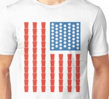 USA Beer Pong Champ Unisex T-Shirt