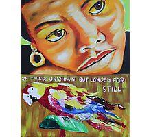 Maya Angelou#1 Photographic Print
