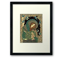 Jackalope Garden Framed Print