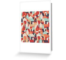 Little town. Greeting Card