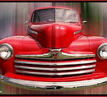 "Little Red - 1947 Ford Pickup Truck by Michael "" Dutch "" Dyer"