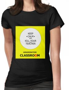 ASSASSINATION CLASSROOM Womens Fitted T-Shirt