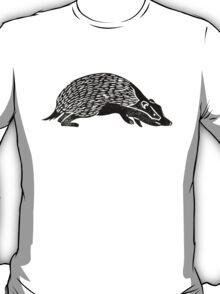 Badger Lino Print T-Shirt